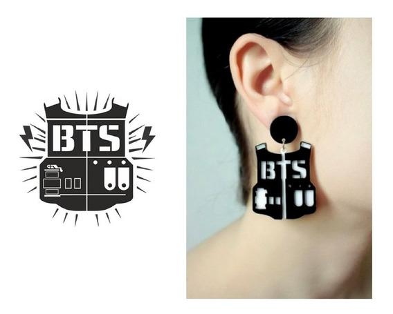 Brincos Geek - Kpop - Bts