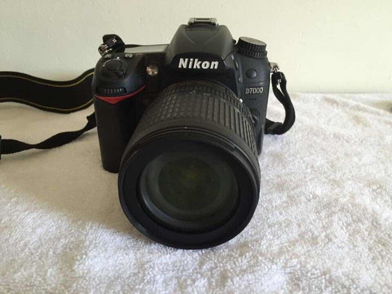 Camera Nikon D7000 + Lente 18-105mm + Acessórios