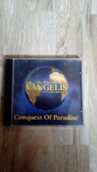 Cd The Hits Of Vangelis Played By Allegro Milano