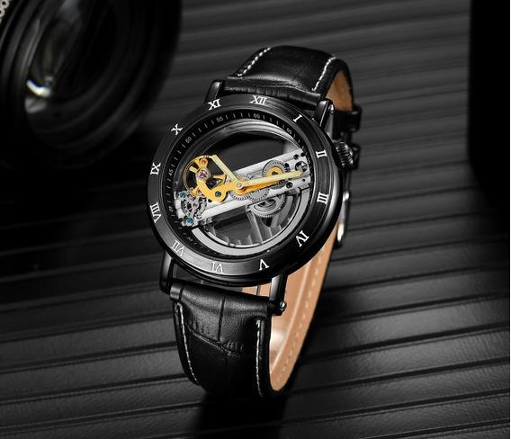 Relógio Forsining Automático Luxo + Caixa