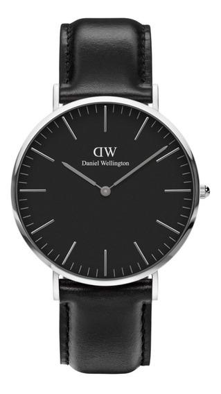 Reloj Unisex Daniel Wellington Classic 40 Sheffield S Black