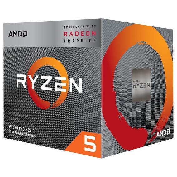 Processador Amd Ryzen 5 3400g - Radeon Rx Vega 11 (am4 - 4 Núcleos - 3,7ghz) - Yd3400c5fhbox