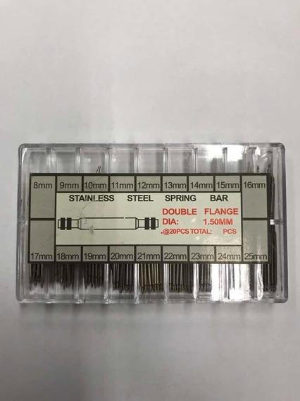 Caixa Pino Para Relógio - Kit Com 216 Unidades