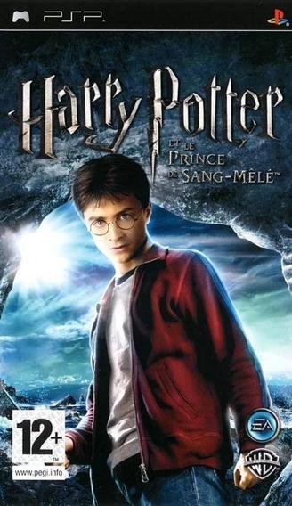 Harry Potter And The Half Blood Prince Psp Físico Usado