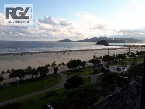 Apartamento Com 4 Dormitórios À Venda, 240 M² Por R$ 1.500.000,00 - Pompéia - Santos/sp - Ap2443
