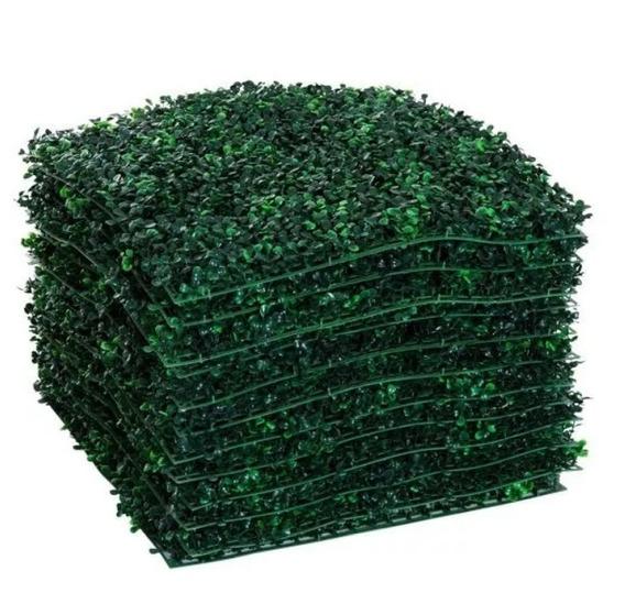 Jardin Vertical Artificial Panel Cesped Muro 60x40 Pack X 10