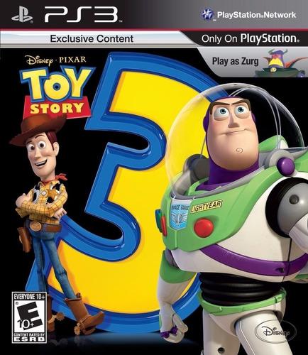 Toy Story 3 The Video Game Juego Ps3 Original + Español