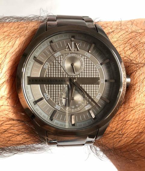 Relógio Armani Exchange Ax2119 (masculino) Cinza Fumê