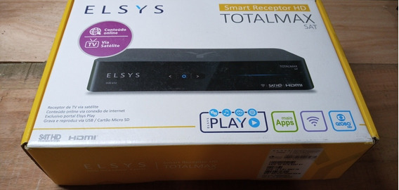 Smart Receptor Elsys Totalmax Sat