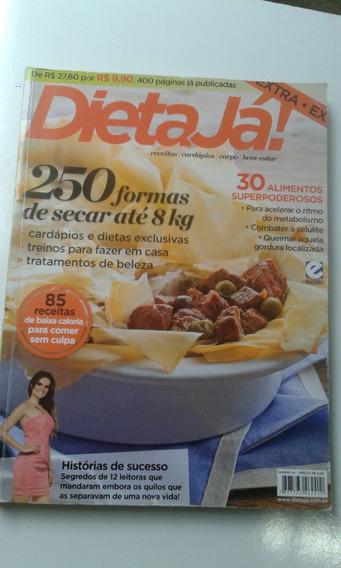 3 Revistas Encadernadas Juntas . Dietas Já 4 - 2011 E 2012
