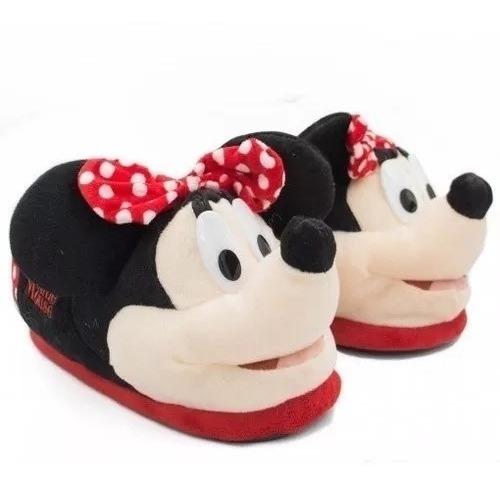 Pantufas Disney Minnie Licenciadas E Originais Ricsen