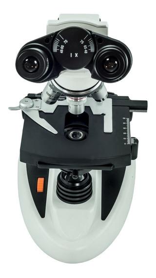 Microscópio Biológico Binocular Bioptika Aumento Até 1600 X