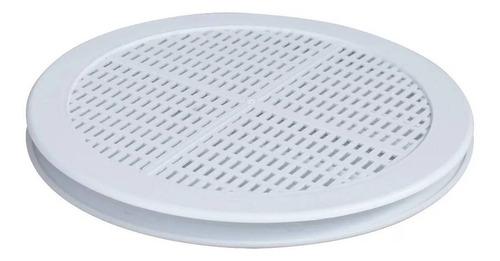 Grade De Ventilação Redonda Itc 15 Cm P/ Vidro Gr152