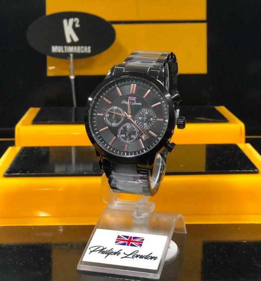 Relógio Philiph London Pl80044613m