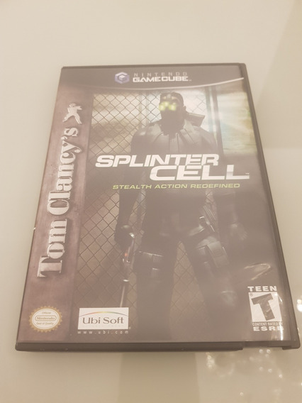 Splinter Cell Stealth Action Redefined Gamecube Americano
