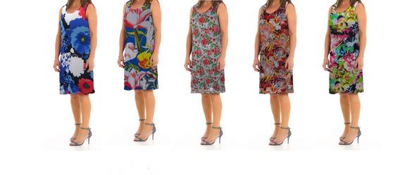 Vestido Soltinho Verão Liganete Fresquinho Malha Geladinha K
