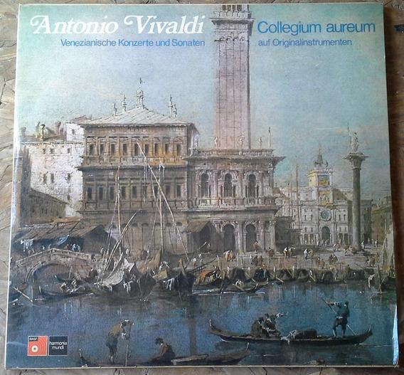 L. P. Vivaldi Álbum Doble 4 Estaciones Conciertos Venecianos