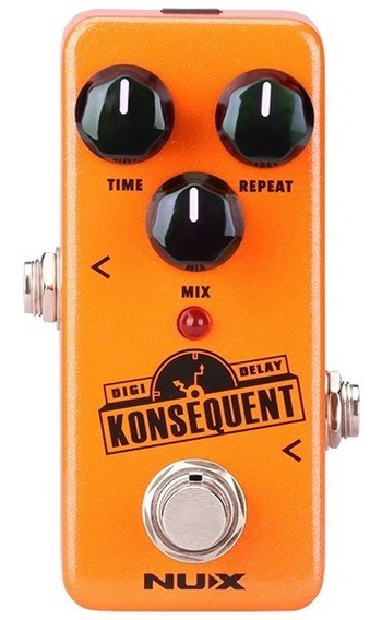 Pedal Nux Konsequent Digital Delay + Nf
