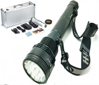 Lanterna Melhor Xenon 15 Leds T6 Potente 26,000 Lumens 150w