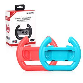 Nintend Switch Steering Controlador Jogo 2pcs Vermelho Azul