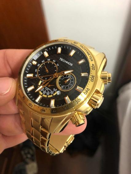 Relógio Technos Banhado Ouro