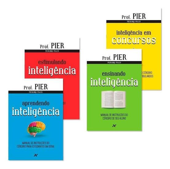Coleção Neuroaprendizagem - Pierluigi Piazzi (4 Livros)