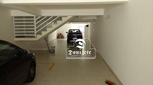 Cobertura Com 2 Dormitórios À Venda, 96 M² Por R$ 325.000,00 - Jardim Paraíso - Santo André/sp - Co1831