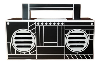 Kk Bocina Stereo Audio Portatil Viajar Retro Pop Bass Hd M72