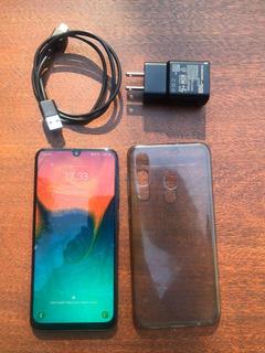 Celular Samsung Galaxy A30 32gb Negro