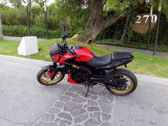 Dominar 400 Modelo 2019 Roja