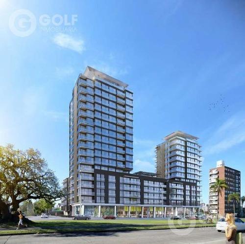 Vendo Apartamento De 1 Dormitorio Con Terraza Hacia Atrás, En Construcción, Garaje Opcional, Malvín, Montevideo