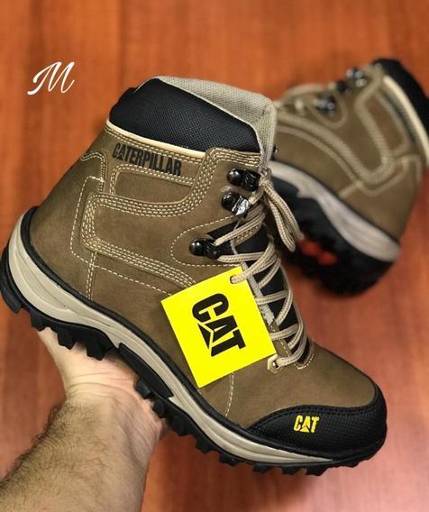 Botas Zapatos En Cuero Para Hombre