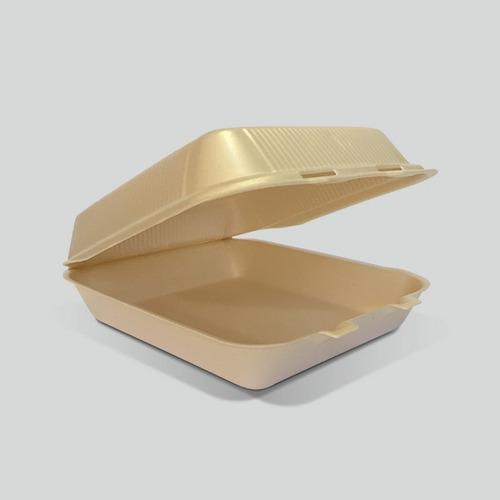 Contenedor Liso Biodegradable Reyma® 7x7 Liso Fecula De Maiz