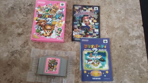 Mario Party 2 Original Completa Nintendo 64