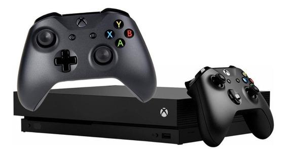 Novo Xbox One X 1 Tb C\ 2 Controles - Pode Retirar