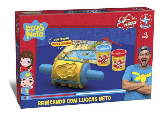 Massinha Super Massa Brincando Com Luccas Neto - Estrela Est