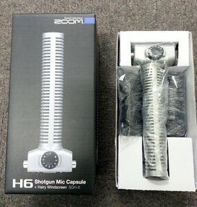 Microfone Cápsula Direcional Zoom Sgh-6 Shotgun P/ Gravador H5 H6
