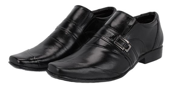 Sapato Social Masculino Couro Legítimo Super Confortável