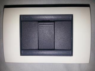 Interruptor Apagador Sencillo Simple Luminex Tipo Bticino