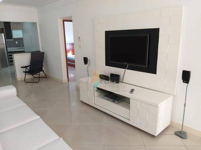 Apartamento Com 3 Dormitórios Para Alugar, 120 M² Por R$ 3.000/mês - Canto Do Forte - Praia Grande/sp - Ap10856