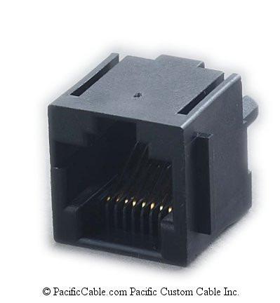 Conector Rj45 Hembra Para Circuito Impreso