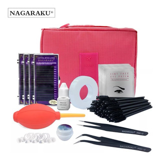 Kit Extencion De Pestañas Nagaraku