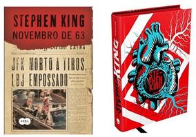 Biografia Stephen King Coração Assombrado + Novembro De 63