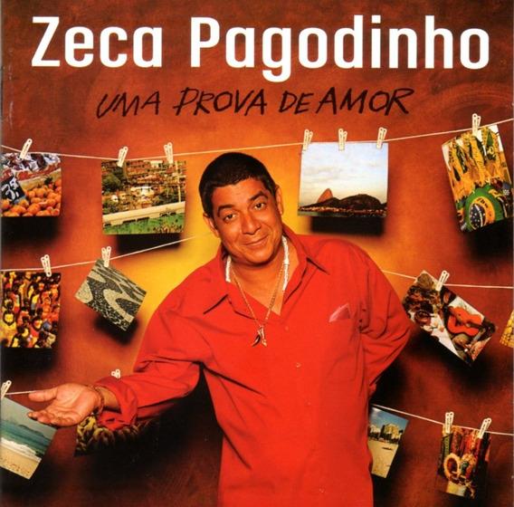 Zeca Pagodinho - Uma Prova De Amor / Cd Excelen Book C/detal