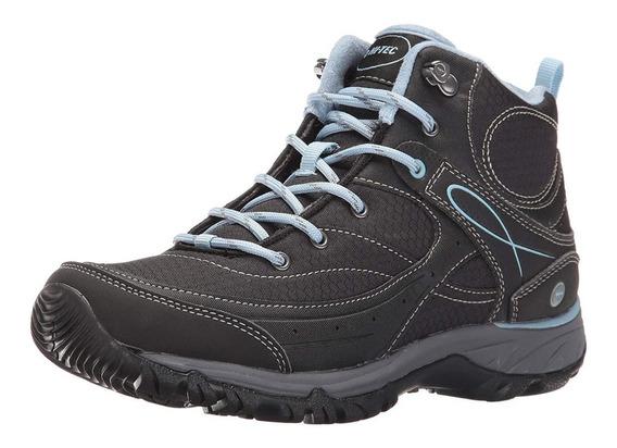 Botas Hi Tec Mujer Trekking Impermeables Equilibrio Montaña