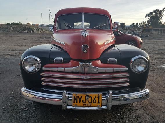 Ford Antiguo Delivery 1946 Clásica Original Papeles Al Dia