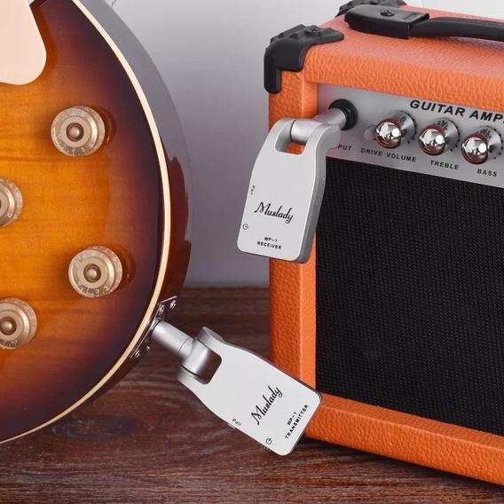 Transmissor Wireless Sem Fio Para Violão Guitarra Baixo