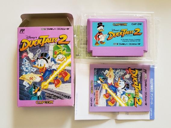 Ducktales 2 Famicom Nes Original Novo Completo Perfeito