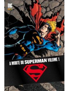 A Morte Do Superman Vol. 1 E 2 - Hqs Novos Lacrados
