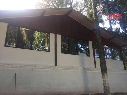 Chácara Com 1 Dormitório À Venda, 1000 M² Por R$ 255.000,00 - Luiz Fagundes - Mairiporã/sp - Ch0036